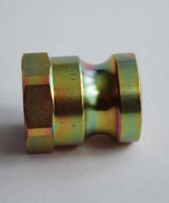 Male camlock coupling with 1″ BSP female thread