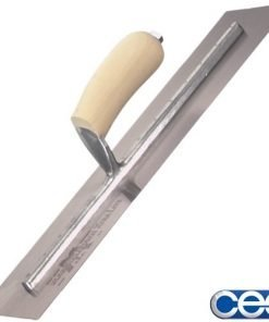 Marshalltown Spring Steel Blade Cement Finishing Trowel 16