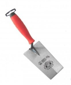 Mild Steel Bucket Trowel narrow square end 180mm
