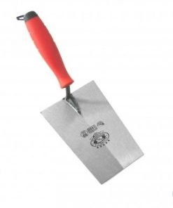 Mild Steel Bucket Trowel wide square end 180mm