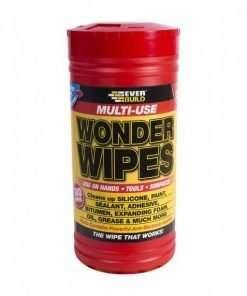 Everbuild Multi Use Wonder Wipes (100 Wipes)